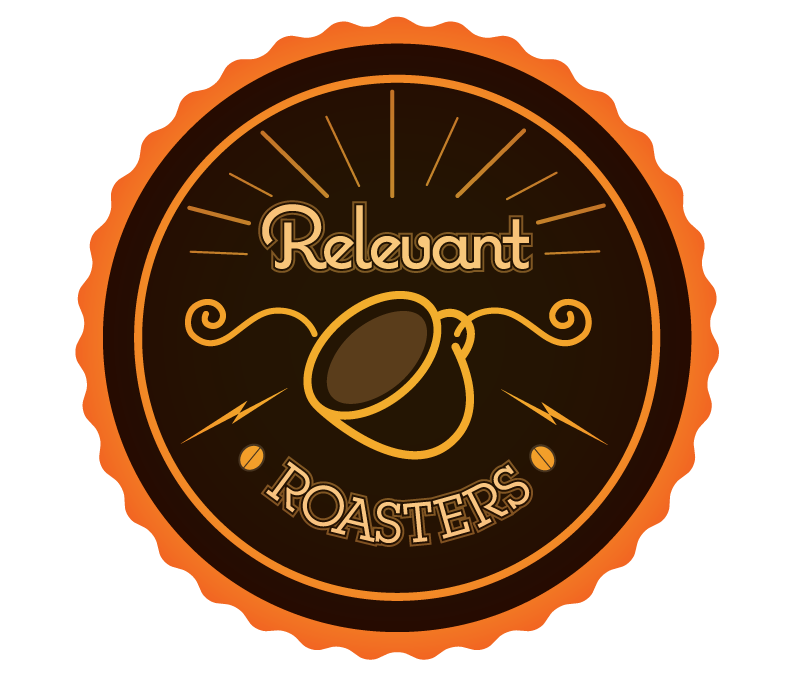 Relevant Roasters : logo design
