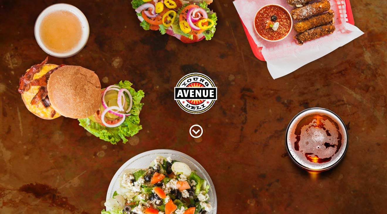 Young Avenue Deli : website launch
